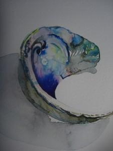 Paua shell, Elizabeth Willmott-Harrop