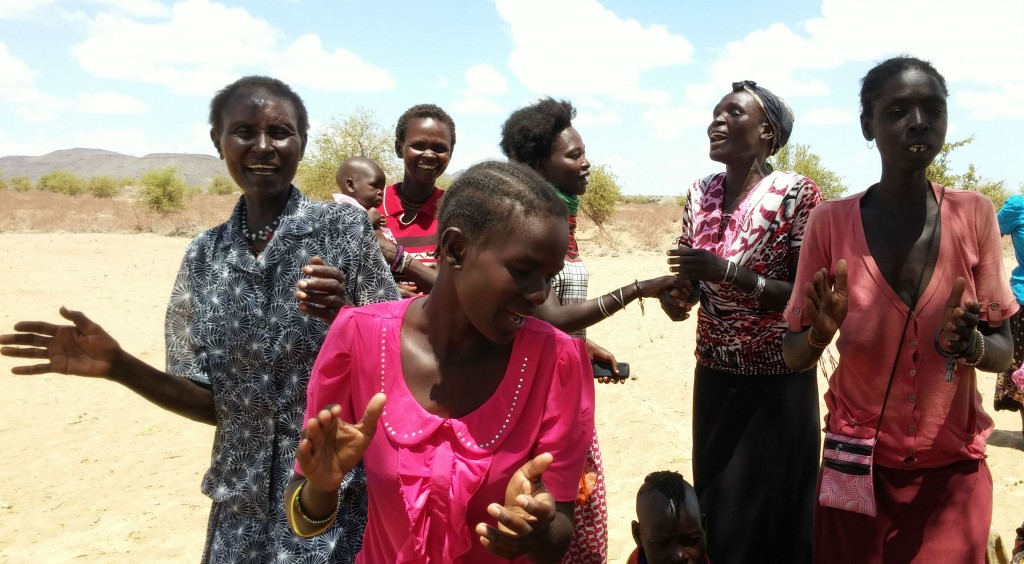 Women singing cropped