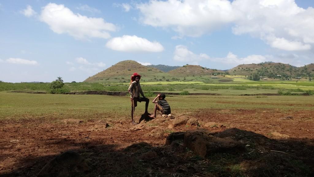 Boys in Amhara