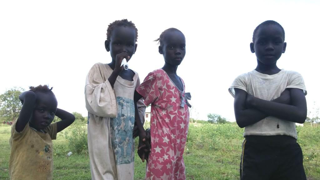 Kondoko children Pibor cropped colour