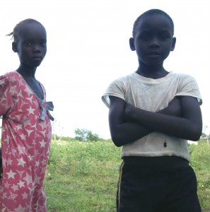 Kondoko children boy and girl